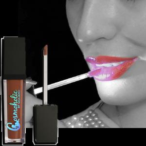 mysterious mocha liquid lipstick with LED light
